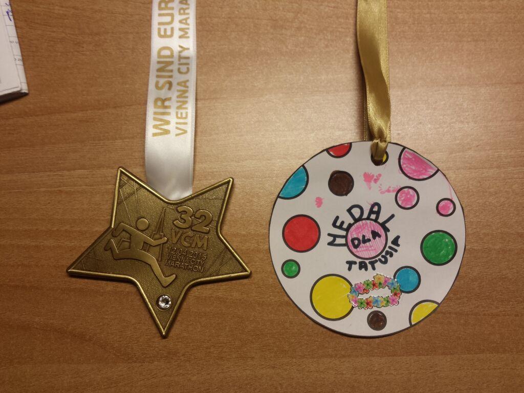 maraton wieden medal